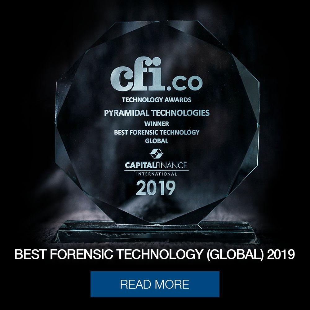 pyramidal technologies award 2019 popup
